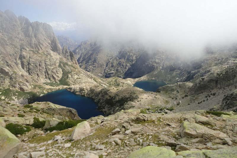 Les lacs de Melo-et-Capitello