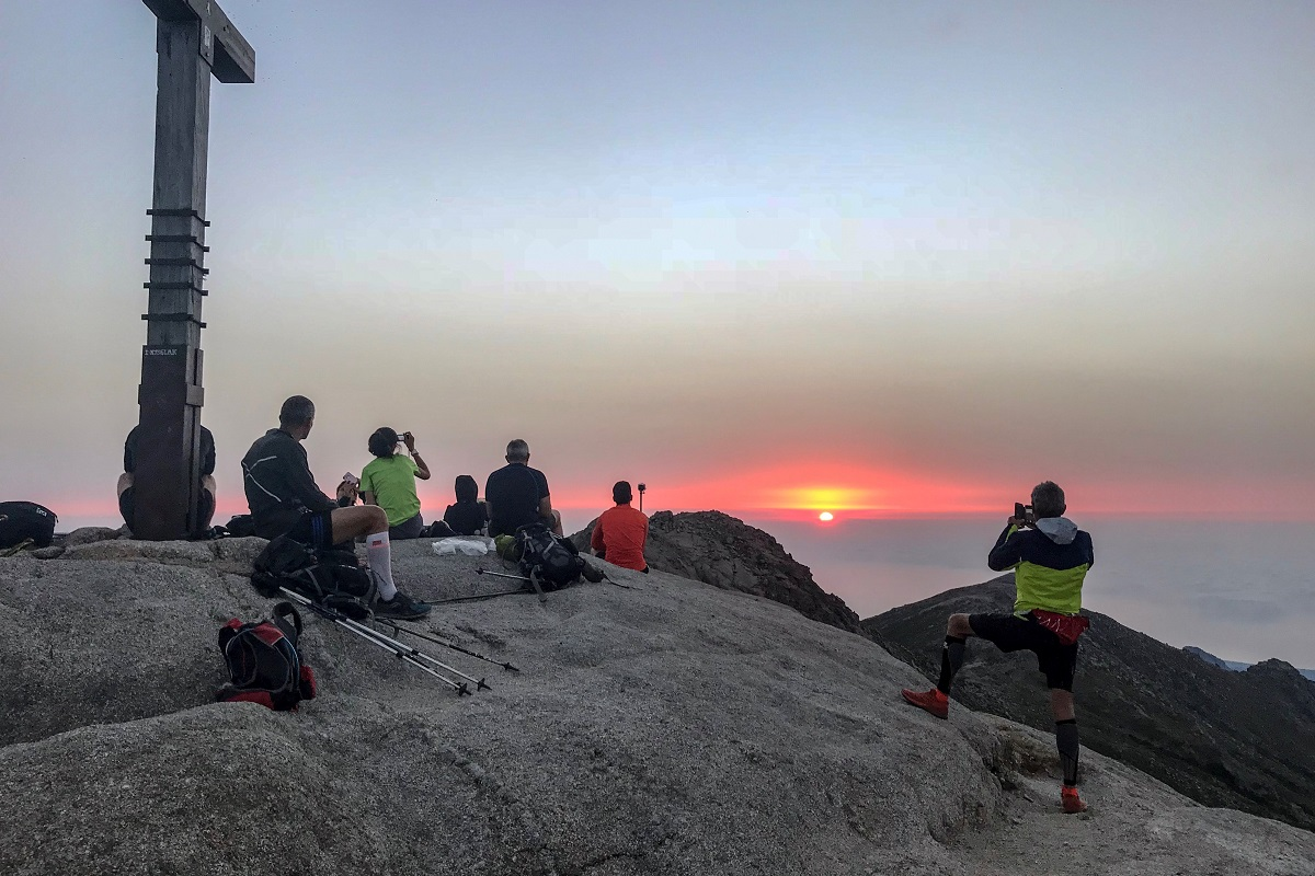 Corsica sun rise