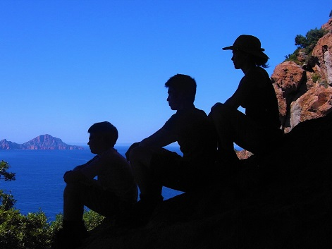 Séjours famille Golfe de Porto