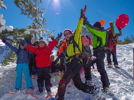 Séjours de pleine nature enfants en hiver