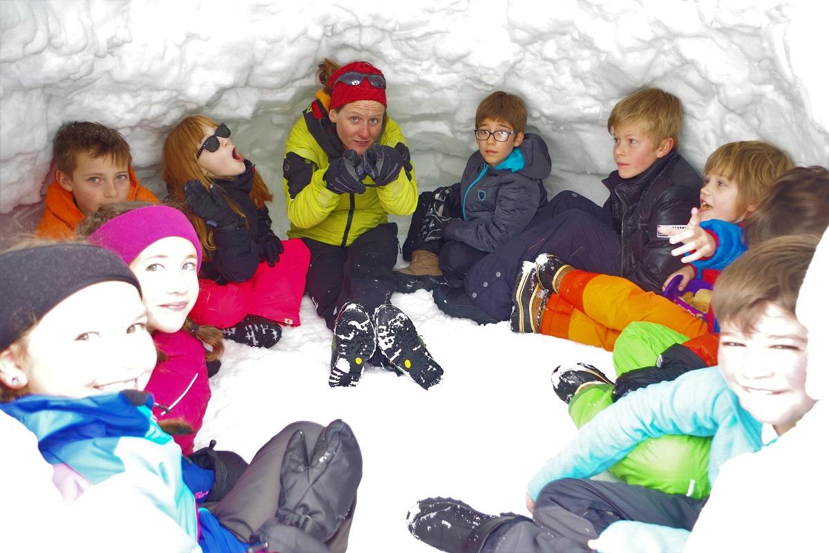 Dans un igloo