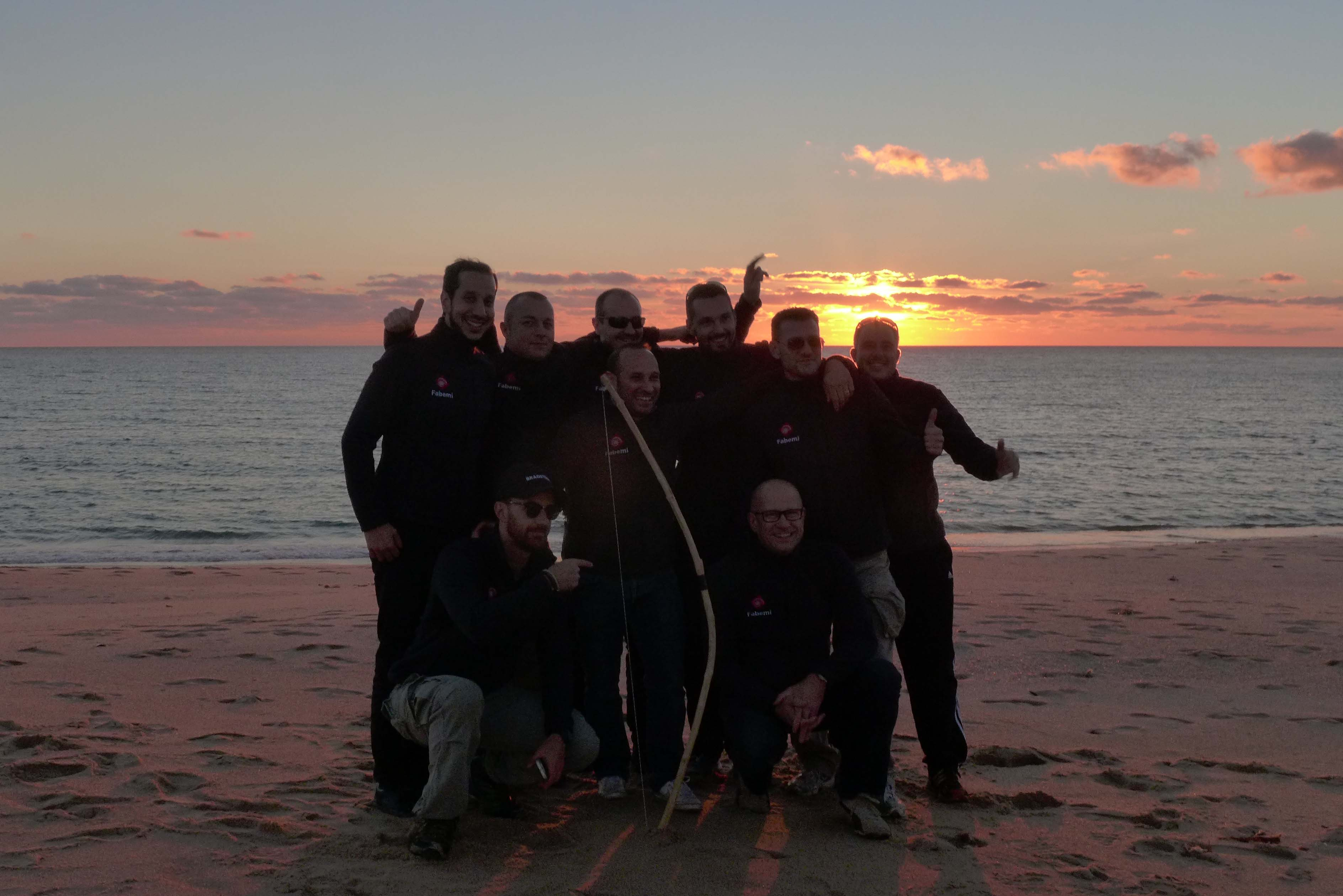 teambuilding plage